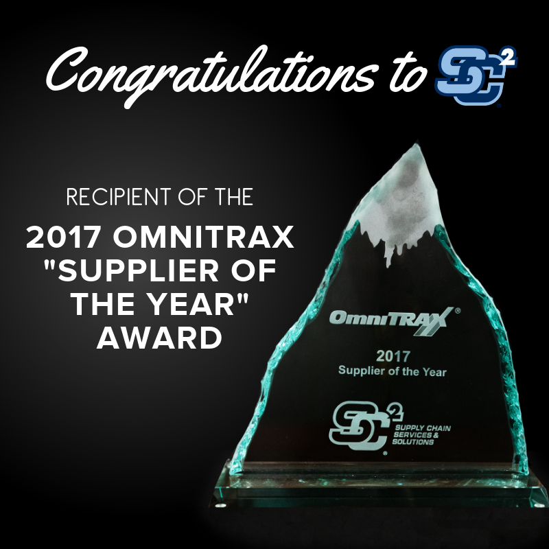 , SC2 Wins Supplier of the Year Award!