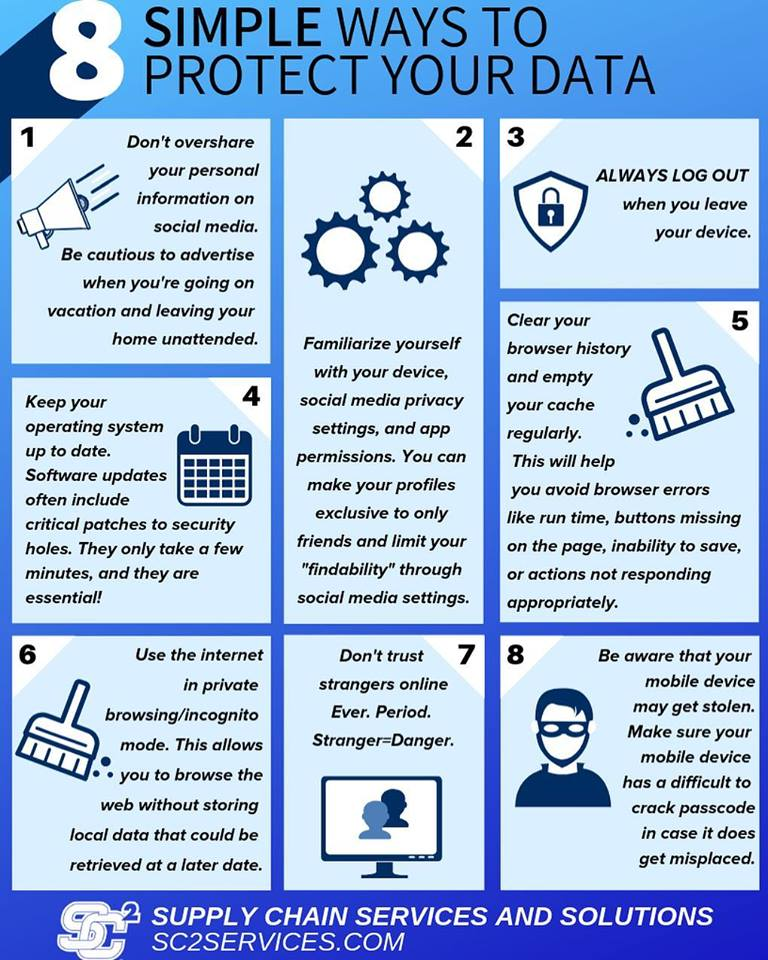 , 8 Simple Ways to Protect Your Data!