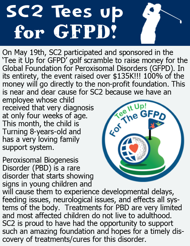 , SC2 TEES UP FOR GFPD!